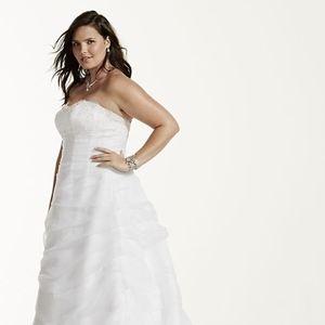 Corset Wedding Dress - Size 14W (BRAND NEW)